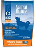 Natural Balance Alpha-Grain Free Trout, Salmon Meal, and Whitefish Formula for Dogs, 5-Pound Bag, My Pet Supplies