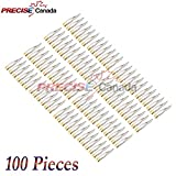 PRECISE CANADA: SET OF 100 DENTAL EXTRACTING FORCEPS #150 GOLD HANDLE DENTAL EXTRACTION INSTRUMENTS