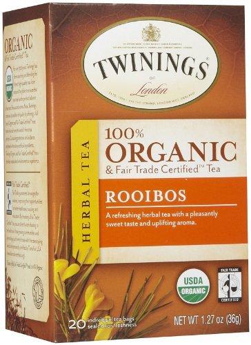 Twinings Rooibos Organic Tea Bags - 20 ct - 6 pk