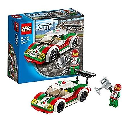 Lego City Coche De Carreras 60053 Amazon Es Juguetes Y Juegos