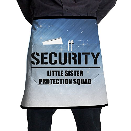 XiHuan Grill Aprons Kitchen Chef Bib Security For My Little Sister Professional For BBQ Baking Cooking For Men Women - Iowa Hawkeyes Apron Set