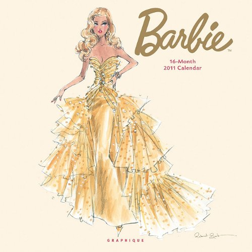 2011  Barbie Wall Calendar (Robert Best Barbie Calendar)