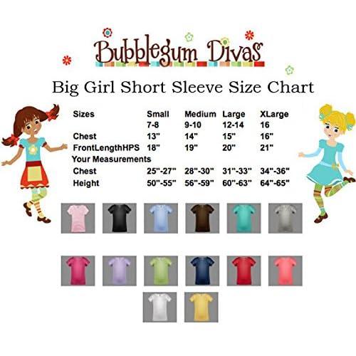 Bubblegum Divas Big Girls 12th Birthday Butterfly Shirt Rainbow Tutu Outfit