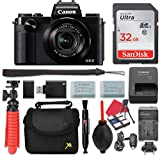 Canon PowerShot G5 X Digital Camera 4.2X Optical Zoom + 32GB SD + Spare Battery + Complete Accessory Bundle