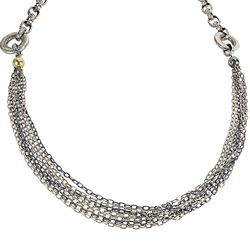 Loved Luxuries BRAND NEW Gurhan Chain Necklace in Sterling Silver MSRP 4,325 (Gurhan Yellow Necklace)