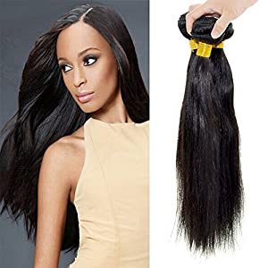 """Feelontop Straight Hair Peruvian Hair Extension,natural Straight 8″ to 30″"""" Hair Product 10pcs/lot Hair Products (30inch)"""