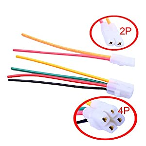 gy wiring harness automotive parts online com flypig cdi wire cable harness plug connector for 4 stroke gy6 chinese scooter moped atv