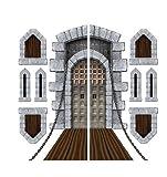 window display props - Castle Door & Window Props Party Accessory (1 Count)(9/pkg) Pkg/3