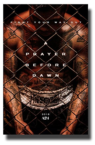 A Prayer Before Dawn Poster Movie Promo 11 x 17 inches Thai Boxing Fence by Poster House