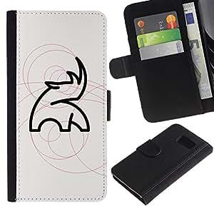 All Phone Most Case / Oferta Especial Cáscara Funda de cuero Monedero Cubierta de proteccion Caso / Wallet Case for Sony Xperia Z3 Compact // Rinoceronte Haunt