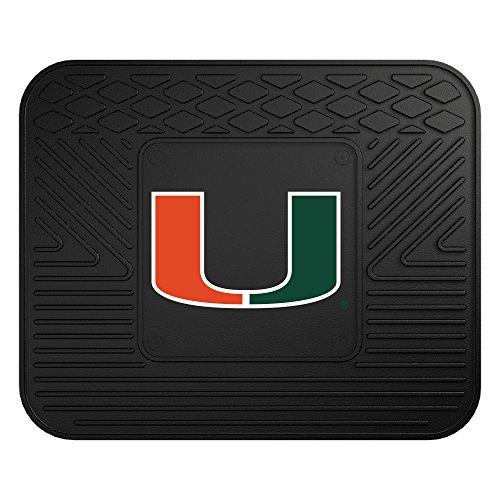 FANMATS NCAA University of Miami Hurricanes Vinyl Utility Mat