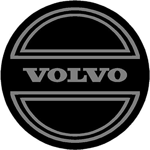 Volvo Black and Gray Replacement Decal Sticker 6 Piece Set (2