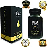 Black Box Hemp – Gel Caps – 25mg Full Spectrum Hemp Oil Extract (Per Cap) with MCT Oil – 30 Count For Sale