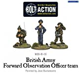 Bolt Action British Army Forward Observer Officers (3 figures, wgb-bi-55) by Bolt Action