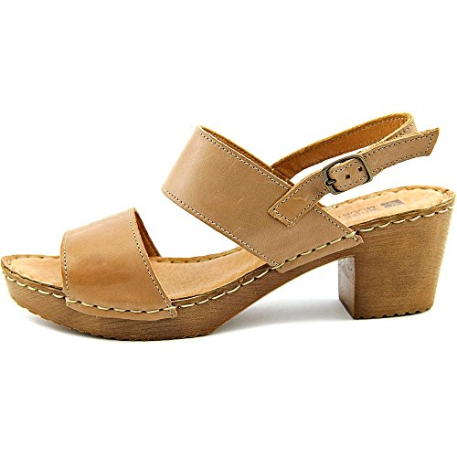 White Motor Sandal Mountain Leather Women's Heeled Taupe TqE1Oq