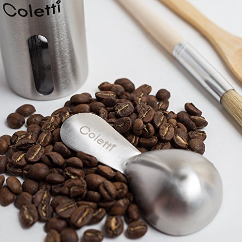 Coletti COL105 Coffee Scoop, 1 Tablespoon & 2 Tablespoon Set by Coletti (Image #2)