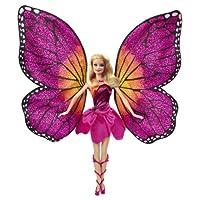 Barbie mariposa y la princesa muñeca de hadas