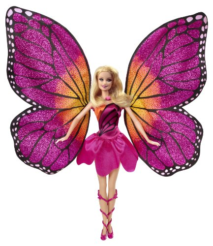 Barbie Mariposa and The Fairy Princess Doll (Mariposa And Her Butterfly Fairy Friends Games)