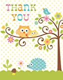 8-Count Thank You Notes, Happi Tree Sweet Baby