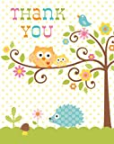 8-Count-Thank-You-Notes-Happi-Tree-Sweet-Baby