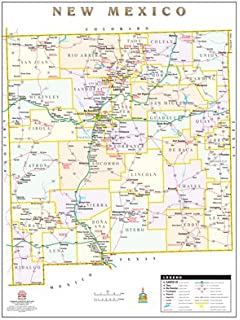 Pinal County Zip Code Map.Maricopa County Pinal County Wall Map Phoenix Mapping Service