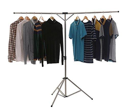 Minidiva Clothes Airer Rail Garment Racks, Folding Clothes D