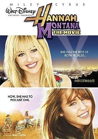 Amazoncom Hannah Montana The Movie Miley Cyrus Billy Ray Cyrus