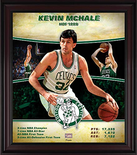 Celtics Boston Mchale Photograph - Kevin McHale Boston Celtics Framed 15
