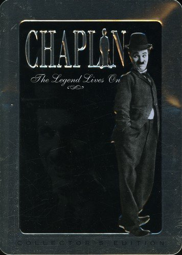 Charlie Chaplin: The Legend Lives On (Tin Can Collector's Edition) 5 Dvd by Chaplin : the legend lives on