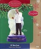 Frank Sinatra - Ol' Blue Eyes 2004 Carlton Cards Musical & Magical Christmas Ornament