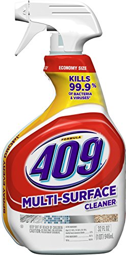 Formula 409 Multi-Surface Cleaner, Spray Bottle, 32 Ounces - Purpose Bathroom Cleaner