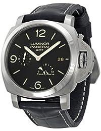Men's PAM00321 Luminor 1950 Black Dial Watch