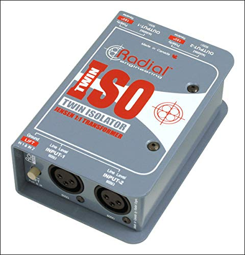 Radial TWIN ISO Passive Line-Level Isolator (Standard) from Radial Engineering