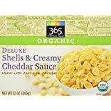 365 Everyday Value Organic Deluxe Elbows & Creamy Cheddar Cheese Sauce, 12 oz