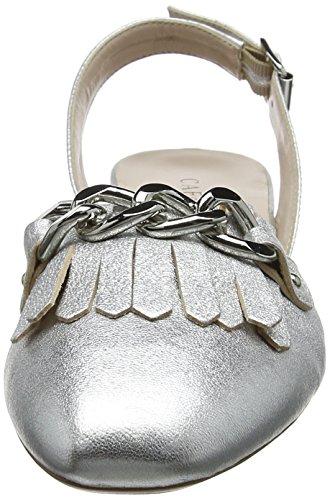 Cafènoir Ladies Kee203 Sandali Chiusi Argento (argento)