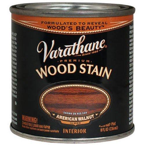 Varathane 211804 Premium Wood Stain, Half Pint, American (American Walnut Base)