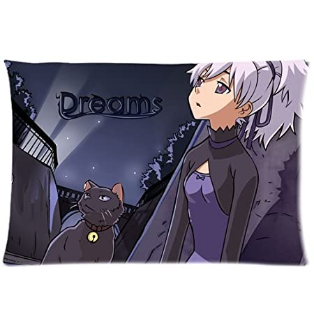 08be555dead7 Warm color Darker than Black Yin Custom Zippered pillow cover cases 20Inchx  30Inch(Twin sides): Amazon.co.uk: Kitchen & Home