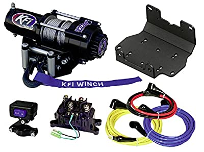 KFI Combo Kit - A2500R2 Winch & Winch Mount - 2016-2018 Yamaha Grizzly 700 & 2016-2018 Kodiak 700 ATV