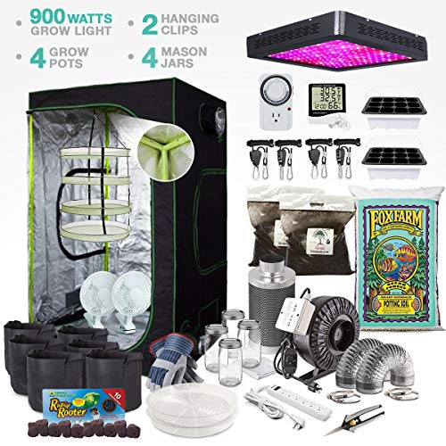 TheBudGrower Complete Grow Tent Kit