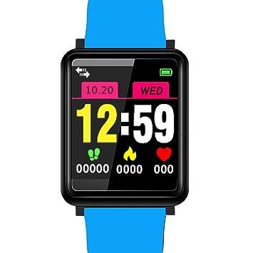 kigins Impermeable Bluetooth Smart Watch Sport Monitor de ...