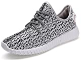 Yeezy Shoes Boost 350 Best Deals - Lukisy Womens Fashion Sneakers Lace Up Lightweight Athletic Breathable Trainers Sport Running Walking Casual Shoes