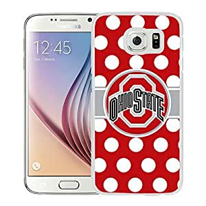 Ncaa Big Ten Conference Football Ohio State Buckeyes 45 White Samsung Galaxy S6 Screen Phone Case Elegant and Fashion Design