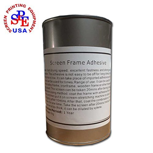 Screen Frame Adhesive Fast Drying Good Quality for Aluminum Screen Farme Silk by Screen Printing Consumables