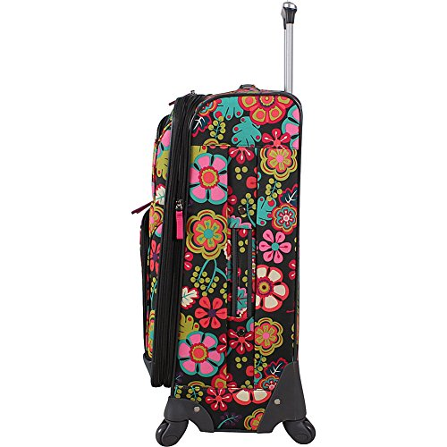Lily Bloom Luggage Large Expandable Design Pattern Suitcase With Spinner Wheels For Woman (28in, Furry Friends) by Lily Bloom (Image #4)