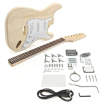 Juego de Bricolaje de Guitarra Eléctrica LA