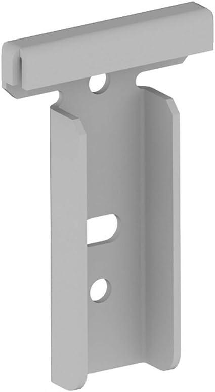 Accessori Per Armadi Guardaroba.Adattatore Staffa A Muro Per Accessori Dogati Bianco Appenderie