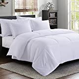 MANZOO MANC-8888NW Queen Duvet Insert White-Quilted Corner...