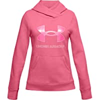 Under Armour Rival Fleece Logo Hoodie Sudadera cálida Niñas