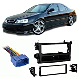 99 acura harness tl - Fits Acura TL 1999-2003 Single DIN Aftermarket Harness Radio Install Dash Kit