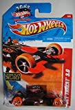 hot wheels license plate - HOT WHEELS THRILL RACERS VOLCANO BLACK/RED JET THREAT 3.0 5/6 LICENSE PLATE INCLUDED